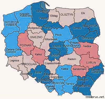 Isidorus Net Sanktuaria W Polsce Mapa Dla Pielgrzyma Wiadomosci